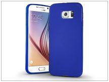Samsung SM-G920 Galaxy S6 szilikon hátlap - Jelly Bright 0,3 mm - kék