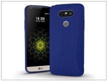 LG G5 H850 szilikon hátlap - Jelly Bright 0,3 mm - kék