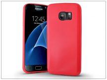 Samsung G930F Galaxy S7 szilikon hátlap - Jelly Bright 0,3 mm - pink