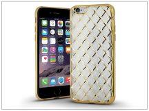 Apple iPhone 6/6S hátlap - Luxury Gel - gold