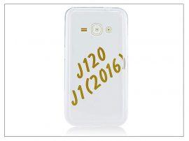 Samsung J120F Galaxy J1 (2016) szilikon hátlap - Slim HC 0,3 mm - transparent