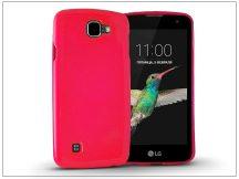 LG K4 K120E szilikon hátlap - Jelly Flash - pink