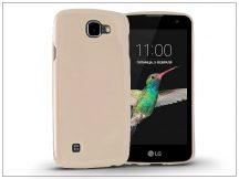 LG K4 K120E szilikon hátlap - Jelly Flash - gold