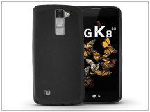 LG K8 K320N szilikon hátlap - Jelly Flash - fekete