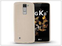 LG K8 K320N szilikon hátlap - Jelly Flash - gold