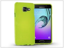 Samsung A310F Galaxy A3 (2016) szilikon hátlap - Jelly Flash - lime