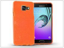 Samsung A510F Galaxy A5 (2016) szilikon hátlap - Jelly Flash - narancs
