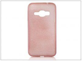 Samsung J120F Galaxy J1 (2016) szilikon hátlap - Jelly Brush - pink