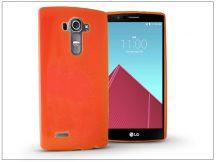 LG G4 H815 szilikon hátlap - Jelly Flash - orange