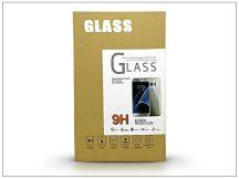 Samsung SM-G925 Galaxy S6 Edge üveg képernyővédő fólia - 1 db/csomag (Tempered Glass) - gold - 3D FULL teljes képernyős