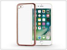 Apple iPhone 7 szilikon hátlap - Jelly Electro - rose gold