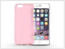 Apple iPhone 6/6S szilikon hátlap - Flexmat 0,3 mm - pink
