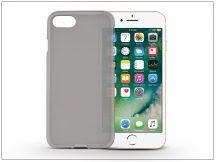 Apple iPhone 7/iPhone 8 szilikon hátlap - Flexmat 0,3 mm - fekete