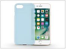Apple iPhone 7/iPhone 8 szilikon hátlap - Flexmat 0,3 mm - kék