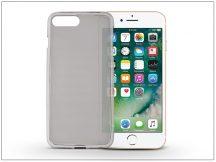 Apple iPhone 7 Plus/iPhone 8 Plus szilikon hátlap - Flexmat 0,3 mm - fekete