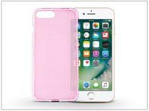 Apple iPhone 7 Plus/iPhone 8 Plus szilikon hátlap - Flexmat 0,3 mm - pink