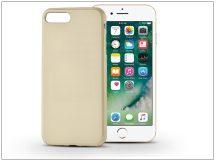 Apple iPhone 7 Plus szilikon hátlap - Jelly Flash - gold