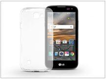 LG K3 K100 szilikon hátlap - Ultra Slim 0,3 mm - transparent