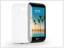 LG K3 (2017) szilikon hátlap - Ultra Slim 0,3 mm - transparent