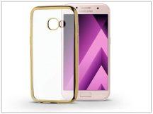 Samsung A320F Galaxy A3 (2017) szilikon hátlap - Jelly Electro - gold