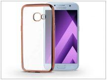 Samsung A520F Galaxy A5 (2017) szilikon hátlap - Jelly Electro - rose gold