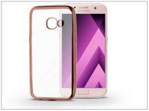 Samsung A320F Galaxy A3 (2017) szilikon hátlap - Jelly Electro - rose gold