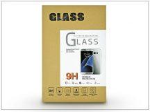 Apple iPhone 7 üveg képernyővédő fólia - 1 db/csomag (Tempered Glass) - fekete - 3D FULL teljes képernyős