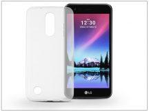 LG K4 M160 (2017) szilikon hátlap - Ultra Slim 0,3 mm - transparent