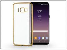 Samsung G955F Galaxy S8 Plus szilikon hátlap - Jelly Electro - gold