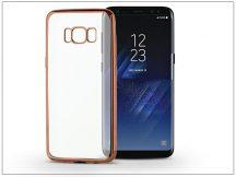 Samsung G950F Galaxy S8 szilikon hátlap - Jelly Electro - rose gold