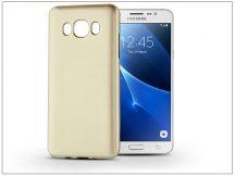 Samsung J510F Galaxy J5 (2016) szilikon hátlap - Jelly Flash Mat - gold