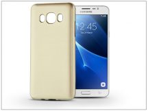 Samsung J510F Galaxy J5 (2016) szilikon hátlap - Jelly Flash Mat - gold