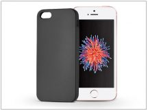 Apple iPhone 5/5S/SE szilikon hátlap - Jelly Flash Mat - fekete
