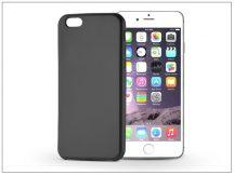 Apple iPhone 6/6S szilikon hátlap - Jelly Flash Mat - fekete