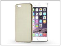 Apple iPhone 6/6S szilikon hátlap - Jelly Flash Mat - gold