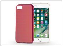 Apple iPhone 7/iPhone 8 szilikon hátlap - Jelly Flash Mat - piros