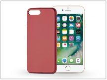 Apple iPhone 7 Plus/iPhone 8 Plus szilikon hátlap - Jelly Flash Mat - piros