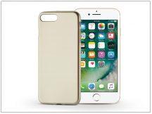 Apple iPhone 7 Plus/iPhone 8 Plus szilikon hátlap - Jelly Flash Mat - gold