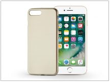 Apple iPhone 7 Plus/iPhone 8 Plus szilikon hátlap - Jelly Flash Mat - gold
