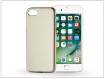 Apple iPhone 7 szilikon hátlap - Jelly Flash Mat - gold