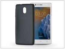 Nokia 3 szilikon hátlap - Jelly Flash Mat - fekete