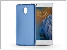 Nokia 3 szilikon hátlap - Jelly Flash Mat - kék