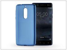 Nokia 5 szilikon hátlap - Jelly Flash Mat - kék