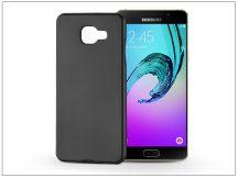 Samsung A510F Galaxy A5 (2016) szilikon hátlap - Jelly Flash Mat - fekete