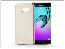Samsung A510F Galaxy A5 (2016) szilikon hátlap - Jelly Flash Mat - gold
