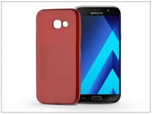 Samsung A720F Galaxy A7 (2017) szilikon hátlap - Jelly Flash Mat - piros