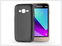 Samsung J130F Galaxy J1 (2017) szilikon hátlap - Jelly Flash Mat - fekete
