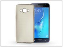 Samsung J320F Galaxy J3 (2016) szilikon hátlap - Jelly Flash Mat - gold