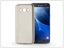 Samsung J710F Galaxy J7 (2016) szilikon hátlap - Jelly Flash Mat - gold