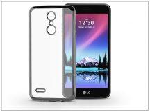 LG K4 M160 (2017) szilikon hátlap - Jelly Electro - fekete